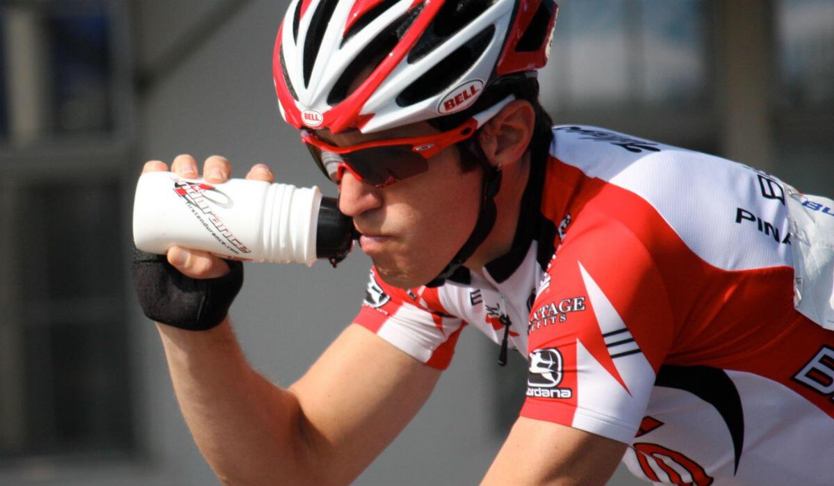 wielrennen sportdrank