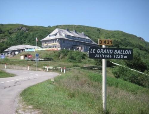 Le Grand Ballon. Grande afzien.