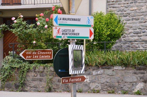 Lacets de Montvernier