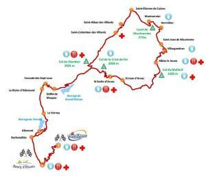 Marmotte route 2015 alternatief