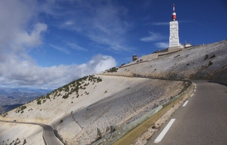 Mont Ventoux de Kale Berg voor wie hem (n)ooit beklom